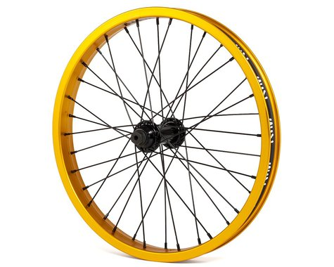 """Rant Party On V2 18"""" Front Wheel (Matte Gold) (18 x 1.75)"""
