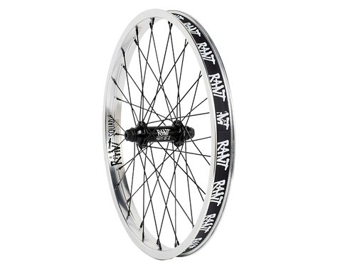 Rant Party On V2 Front Wheel (Silver) (20 x 1.75)