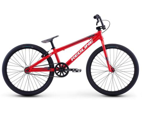 """Redline 2021 MX-24 Pro Cruiser BMX Bike (Red) (21.8"""" Toptube)"""