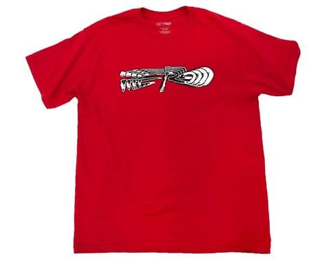 Redline X Ferg Short Sleeve T-Shirt (Red) (S)