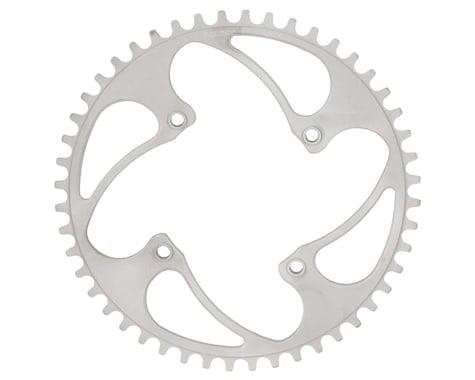 RENNEN BMX Threaded 4-Bolt Chainring (Silver) (35T)