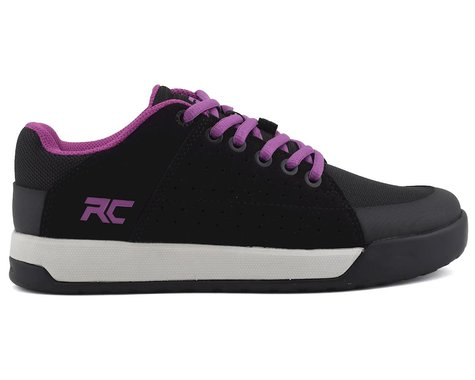 Ride Concepts Livewire Women's Flat Pedal Shoe (Black/Purple) (10)