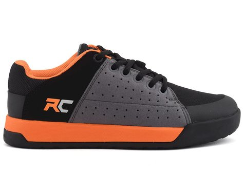 Ride Concepts Youth Livewire Flat Pedal Shoe (Charcoal/Orange) (Youth 4)