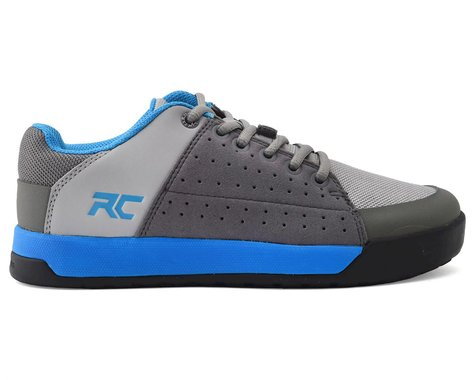 Ride Concepts Youth Livewire Flat Pedal Shoe (Charcoal/Blue) (Youth 4)