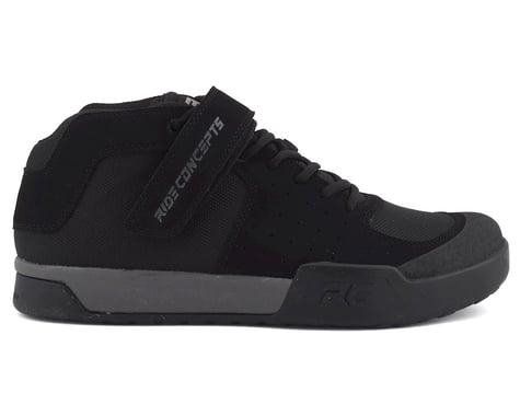 Ride Concepts Wildcat Flat Pedal Shoe (Black/Charcoal) (8)