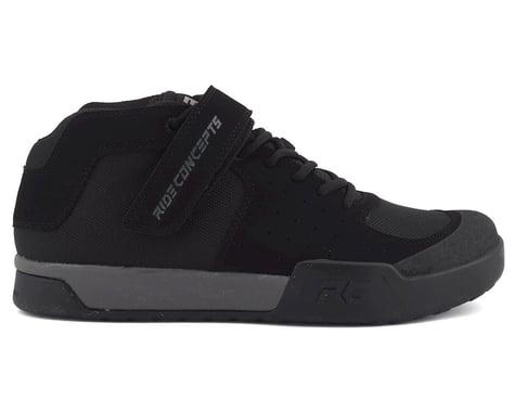 Ride Concepts Wildcat Flat Pedal Shoe (Black/Charcoal) (12)
