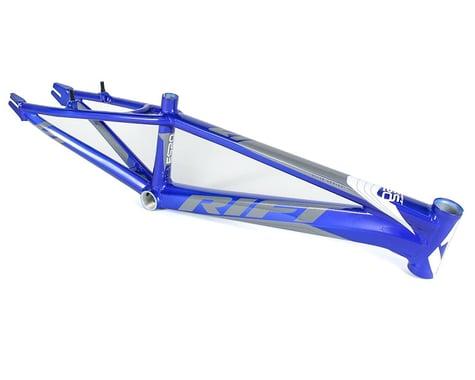 RIFT ES20 BMX Race Bike Frame (Blue/White/Grey) (Pro XL)