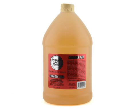 """Rock """"N"""" Roll Miracle Red Bio-Cleaner/Degreaser (1 Gallon)"""