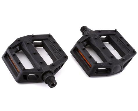 "Salt Junior V2 Platform Pedals (Black) (Composite/Plastic) (9/16"")"