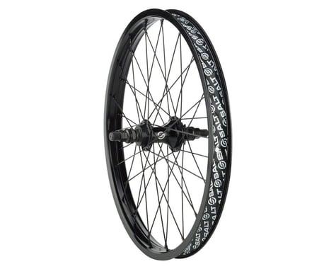 Salt Rookie Cassette Rear Wheel (Black) (20 x 1.75)