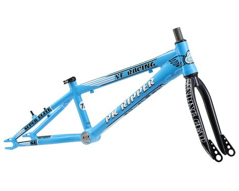 """SE Racing PK Ripper Super Elite BMX Frame (Blue) (Toptube 20.5"""") (Pro)"""