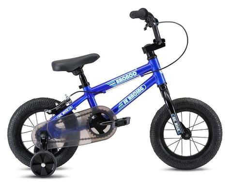 "SE Racing 2021 Bronco 12"" Kids BMX Bike (Blue) (11.9"" Toptube)"