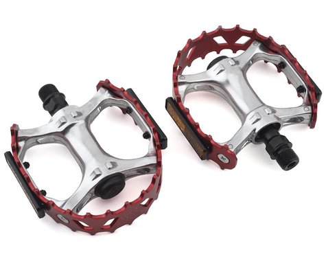 """SE Racing Bear Trap Pedals (Red) (9/16"""")"""