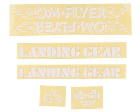 SE Racing OM Flyer Decal Set (White)