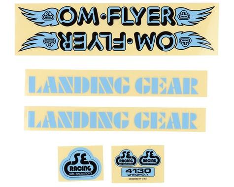 SE Racing OM Flyer Decal Set (Blue)
