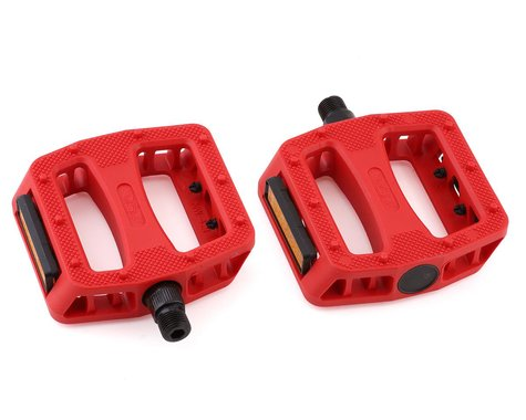 """SE Racing 12 O'Clock Nylon Pedals (Red) (9/16"""")"""