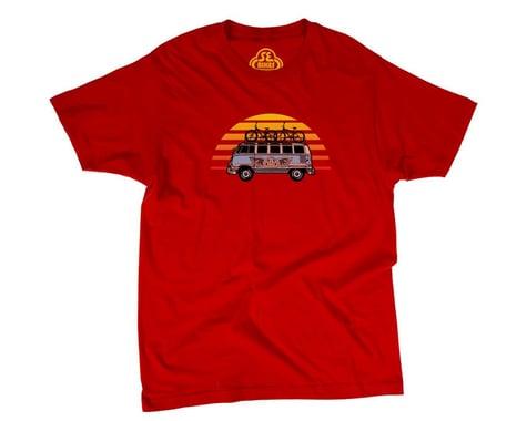 SE Racing SE Vee Dub T-Shirt (Red) (S)