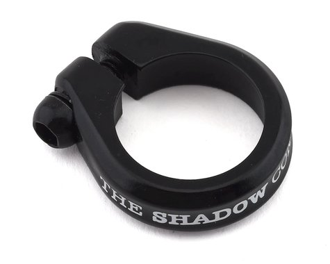 """The Shadow Conspiracy Alfred Lite Seat Post Clamp (Black) (28.6mm (1-1/8""""))"""