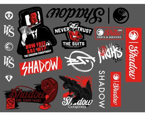 The Shadow Conspiracy How Free We Are Sticker Pack