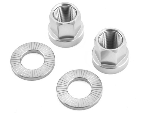 The Shadow Conspiracy Featherweight Alloy Axle Nuts (Polished) (14mm)