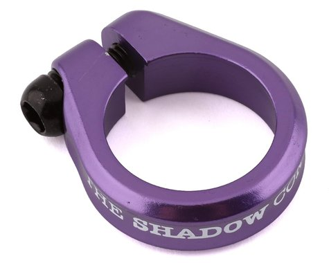 """The Shadow Conspiracy Alfred Lite Seat Post Clamp (Skeletor Purple) (28.6mm (1-1/8""""))"""