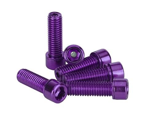 The Shadow Conspiracy Hollow Stem Bolt Kit (Purple) (6) (8 x 1.25mm)