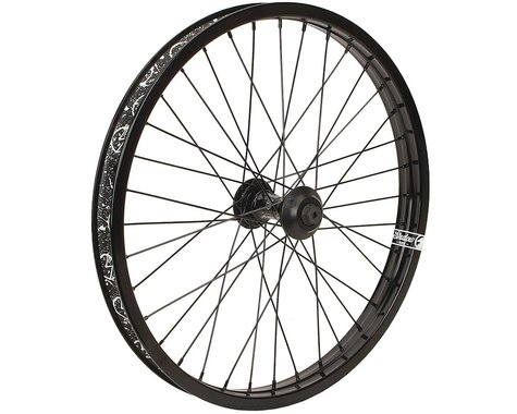 The Shadow Conspiracy Symbol Front Wheel (Black) (20 x 1.75)