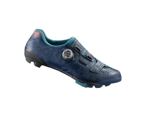 Shimano RX8 Women's Gravel Shoes (Navy) (43)