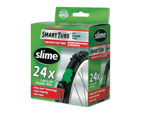 """Slime 24"""" Self-Sealing Inner Tube (Schrader) (1.75 - 2.125"""")"""
