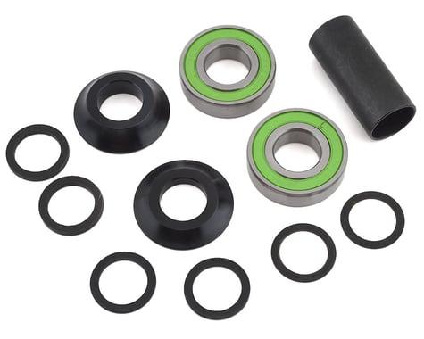 S&M Mid Bottom Bracket Kit (Black Cones) (19mm)