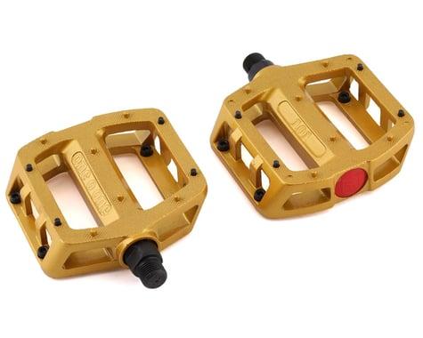 "S&M 101 Pedals (Gold) (Pair) (9/16"")"