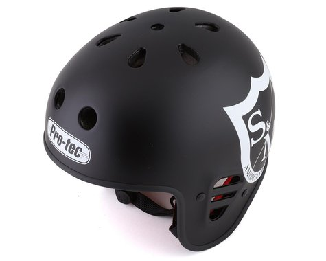 S&M x Pro-Tec Full Cut Certified Helmet (Matte Black) (M)