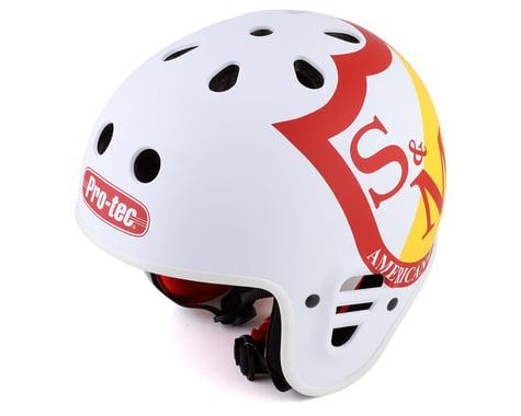 S&M x Pro-Tec Full Cut Certified Helmet (White) (S)