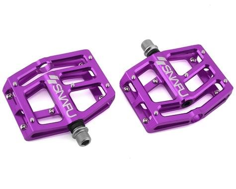 "Snafu Anorexic Pro Pedals (Purple) (9/16"")"