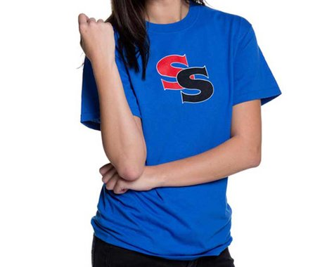 SSquared Logo T-Shirt (Blue) (Youth) (Youth S)