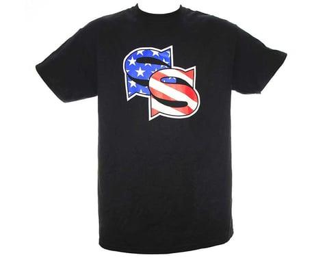 SSquared Stars & Stripes T-Shirt (Black) (2XL)