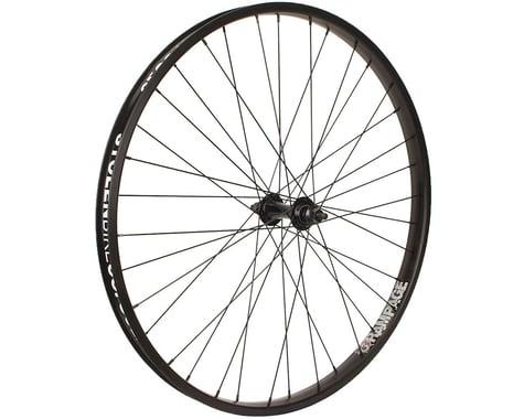 """Stolen Rampage 26"""" Cruiser Front Wheel (Black) (26 x 1.75)"""