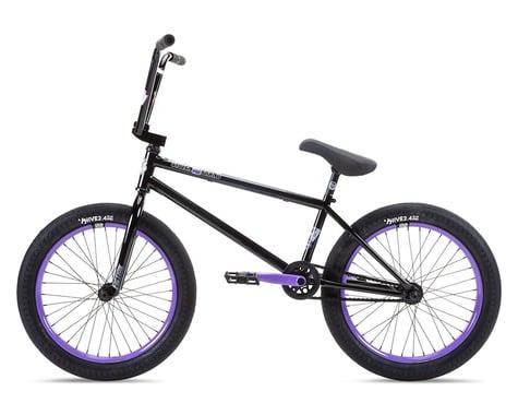 """Stolen 2021 Sinner FC XLT 20"""" BMX Bike (21"""" Toptube) (Black/Violet)"""