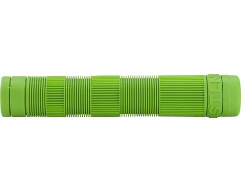 Stolen Team Flangeless Grips (Bright Green) (Pair)