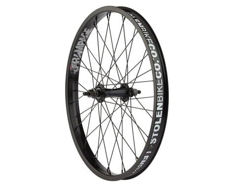Stolen Rampage Front Wheel (Black) (20 x 1.75)