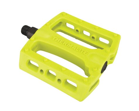 """Stolen Thermalite PC Pedals (Neon Yellow) (9/16"""")"""