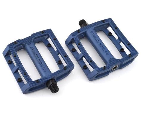 "Stolen Throttle Sealed Pedals (Blue) (9/16"")"