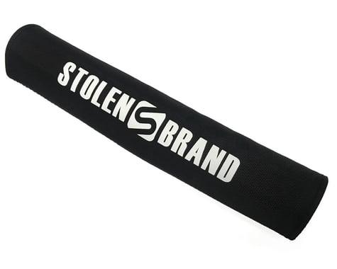 Stolen Logo Crossbar Pad (Black with White Logo)