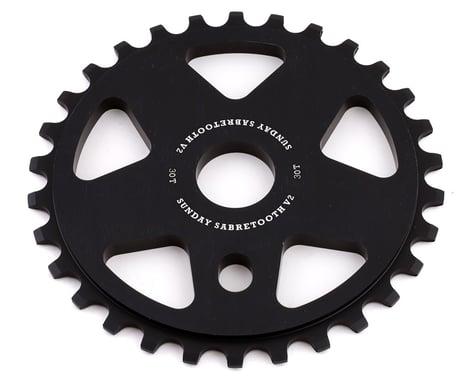 Sunday Sabretooth V2 Sprocket (Black) (30T)
