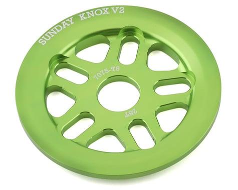 Sunday Knox V2 Guard Sprocket (Electro Green) (25T)