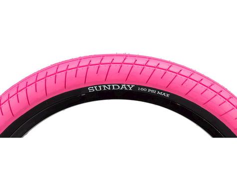 "Sunday Street Sweeper Tire (Jake Seeley) (Pink/Black) (20"") (2.4"")"