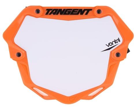 Tangent Ventril 3D Pro Number Plate (Orange) (L)