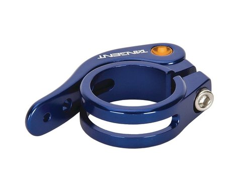 Tangent Quick Release Seat Clamp (Blue) (31.8mm)