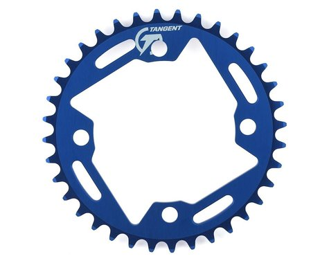 Tangent Halo 4-Bolt Chainring (Blue) (36T)