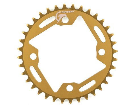 Tangent Halo 4-Bolt Chainring (Gold) (36T)